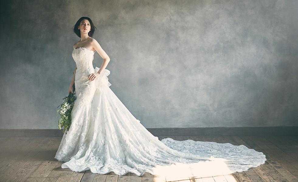 【ELLE】女優の三吉彩花が花嫁に。 「ユミカツラ」流 パーフェクトブライドの肖像